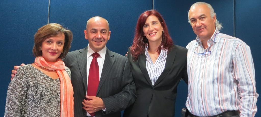 Laura Certucha, Mario Guerra, Alzira Moisés, Octavio Mendoza