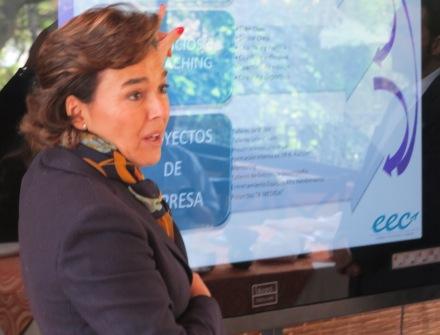 Eva López-Acevedo Socia Fundadora y Directora Ejecutiva de la EEC