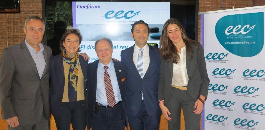 El Equipo de la EEC en México (Javier Pérez Jiménez, Marcelo Lehmann y Lara Julbe),  junto con Eva López-Acevedo y Fernando Vargas