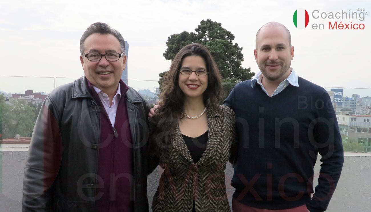 Luis Fernando González, Ana Zamora y Jarish Krakaur